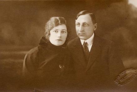 G.Birkerta vecāki Pēteris Birkerts un Mērija Šopa-Birkerts